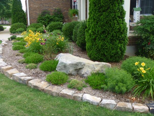 Lanscapers greenville sc landscape stone paver concrete hardscapes